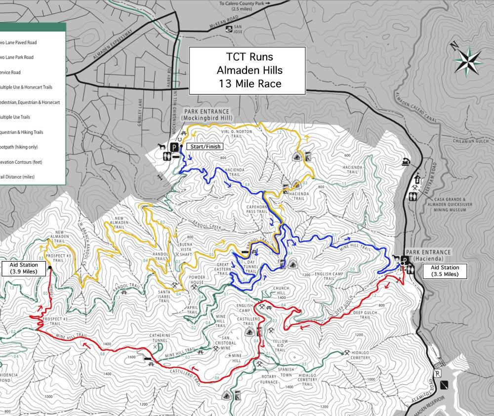 Almaden Hills Trail Run (8/24) – Troy\'s California Trail Runs